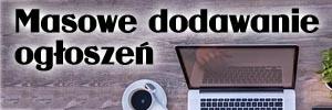 Masowo ogłoszenia Niewiarygodna reklama twojego sklepu na tysiącach stron w internecie. usługi kurierskie
